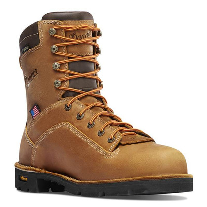 Danner 17315 USA Quarry Soft Toe Non-Insulated Work Boots ...