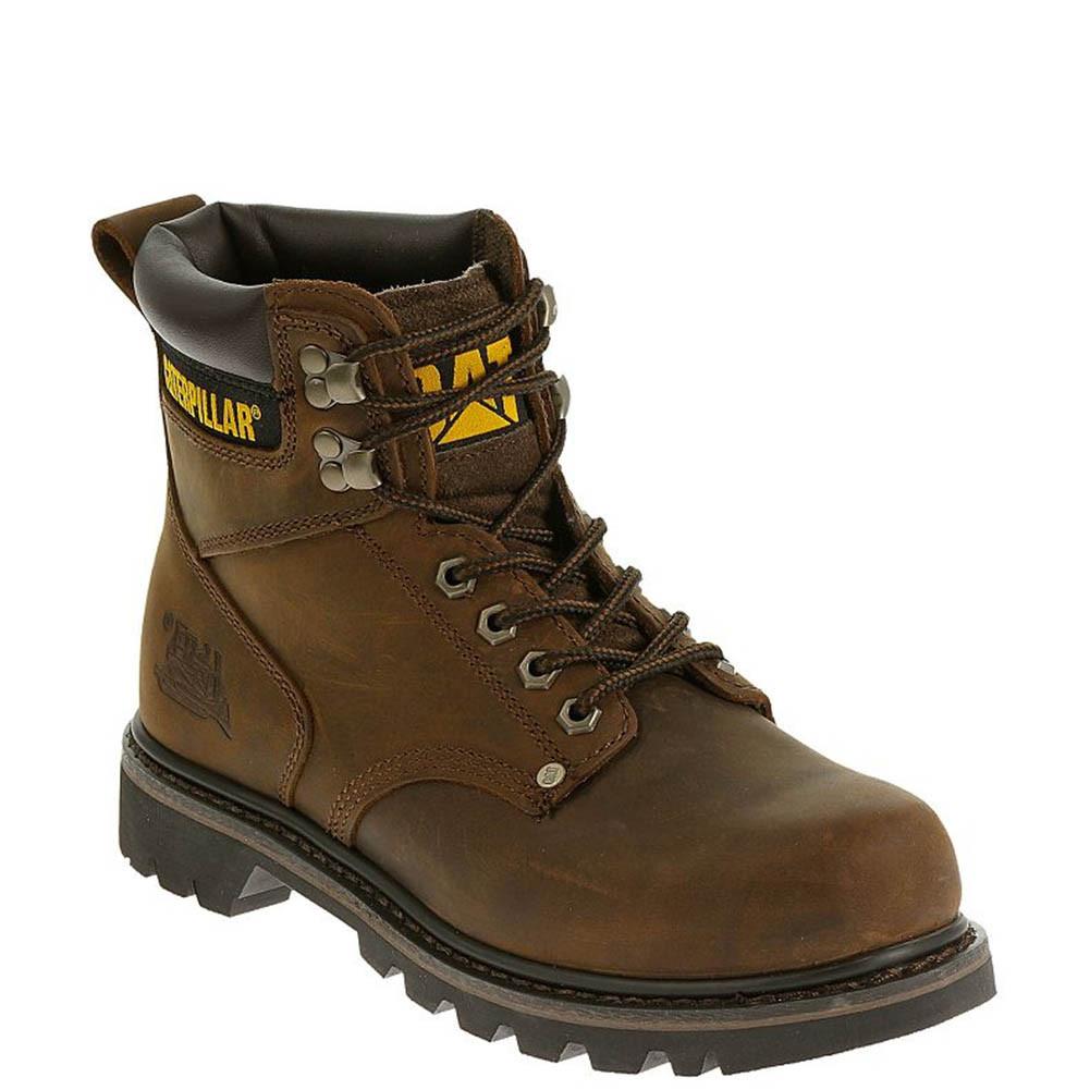 7705ed533e4 CAT P72593 Men's 2nd Shift Work Boot Dark Brown