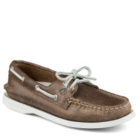 Sperry Women's A/O White Cap Boat Shoe Brown