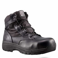 "Timberland PRO Valor 6"" Tactical Police Duty Boots CT WP Side Zipper-525"