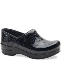 Dansko Professional Black Tooled Clogs