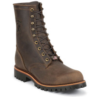 Chippewa 20086 USA Steel Toe Chocolate Apache