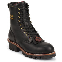 Chippewa 73050 Steel Toe Insulated Black Oiled Logger