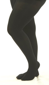 In A Tight Spot  - Opaque Tights  (Black)***FINAL SALE***