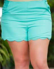 Around The Bend Short - Mint***FINAL SALE***