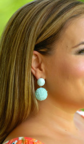 Dare To Flare Earring  -  Mint