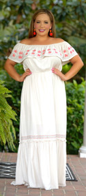 Whisper In The Wind Maxi  -  Cream***FINAL SALE***