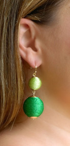 Color From Another Mother Earring - Green***FINAL SALE***