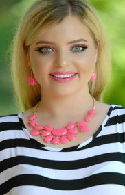 Pink Passion Necklace - Neon Pink