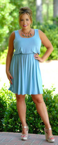Fri-Yay Dress - Blue***FINAL SALE***