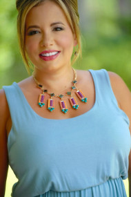 Filly Flare Necklace - Multi***FINAL SALE***