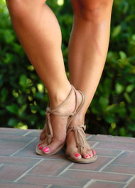 Sands Of Time Sandal - Camel***FINAL SALE***
