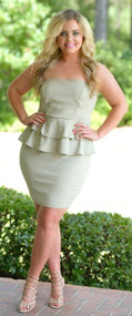 Sugar And Spice Dress - Sage***FINAL SALE***