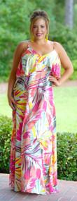 Urban Jungle Maxi Dress - Multi***FINAL SALE***