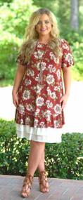 Pretty Little Peek-A-Boo Dress Extender - Ivory