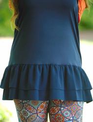 Pretty Little Peek-A-Boo Top/Dress Extender - Navy