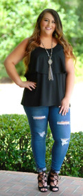 Basically Beautiful Top - Black ***FINAL SALE***