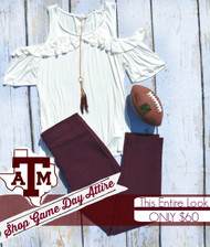 Shop Game Day Attire - Texas A & M Beauty