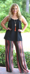 Fall Festival Palazzo Pant - Multi***FINAL SALE***