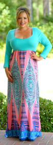 Cruising To New Heights Maxi - Mint