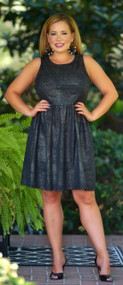 Golden Girl Dress - Black ***FINAL SALE***