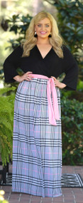London Bridge Is Falling Maxi - Black / Pink***FINAL SALE***