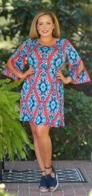Having A Ball Dress - Red***FINAL SALE***