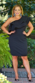 Center Of Attention Dress -Black***FINAL SALE***