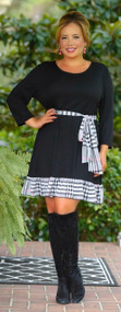 Bastille Crossing Dress - Black ***FINAL SALE***