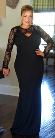 It Takes Two To Tango Dress - Black