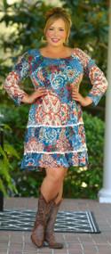 A World Of Possibilities Dress - Multi
