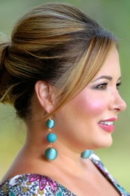 Having A Ball Earring - Teal