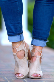 Fit To Be Ties Bootie - Nude