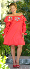 Watch Me Stop Traffic Dress - Red***FINAL SALE***