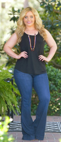 Love To Layer Tank - Black