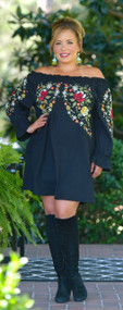 Sweet Disposition Dress/Tunic - Black