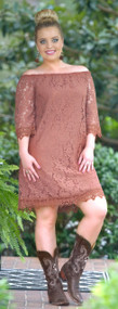 Great Timing Dress - Mocha