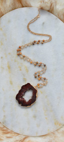 Leave No Stone Unturned Necklace