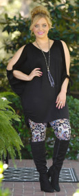Take A Hay Ride Dress / Tunic - Black