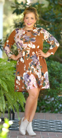 Shades of Autumn Dress