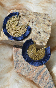 Get Creative Earring - Navy