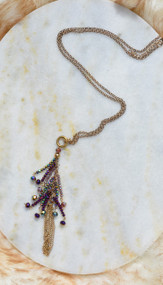 Twinkle Twilight Necklace - Purple