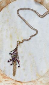 Twinkle Twilight Necklace - Purple