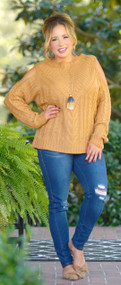 Uncontested Beauty Sweater - Mustard