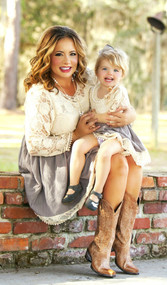 Nothin Like You Lace Dress (Daughter)