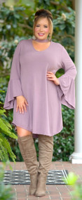 Show The Real You Dress - Mauve