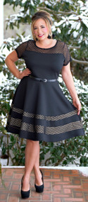 The World At My Fingertips Dress - Black