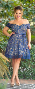Good Times Dress - Navy