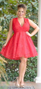 Could It Be Forever Dress - Red