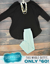 Shop The Look - Mint To Be With You